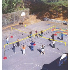 Big Red Base System:4 Court  System - Volleyball