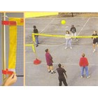 Big Red Base System 3-in-1 System - Tennis, Badminton & Volleyball