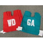 Netball Bibs - with court positions