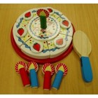 Pretend Birthday Cake - wooden