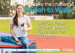 Switch To Water Challenge